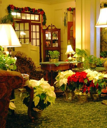 Hawthorne Hotel Lobby