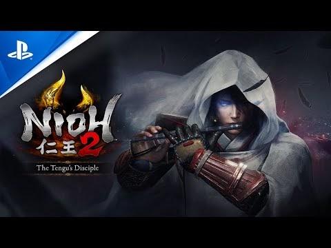 Nioh 2: The Tengu's Disciple - DLC Trailer | PS4