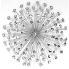 Stratton Home Metal Acrylic Wall Art Sculpture Starburst Modern Abstract Contemporary Decor