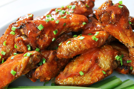 Perfectly Crispy Buffalo Wings - Life She Lives