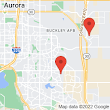 23656 E Mississippi Cir, Aurora, CO 80018 to 3712 S Gibraltar St, Aurora, CO 80013