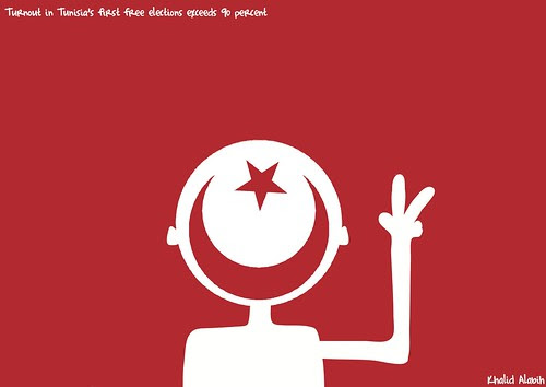 Tunisia happy