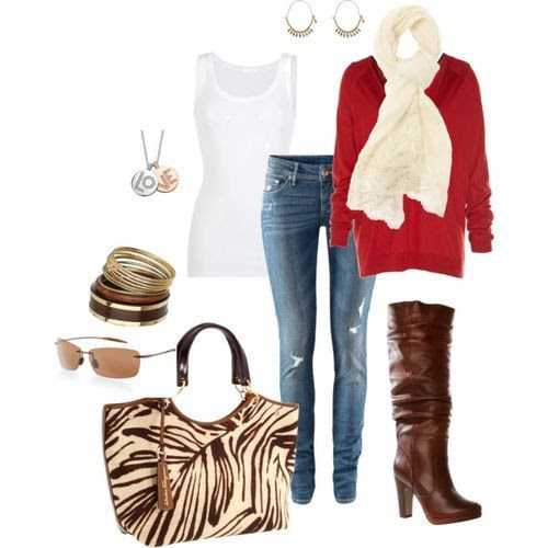 red dressy casual (girls,dress,girl,fashion,style,clothes,polyvore,our picks)