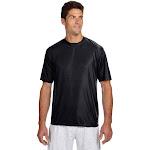 A4 N3142 Cooling Performance Crew T-Shirt - Black