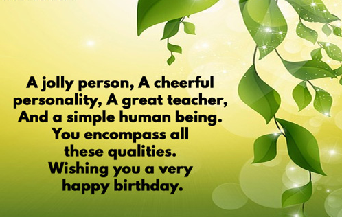 Happy Birthday Teacher Top 35 Birthday Wishes For Teacher