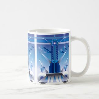 An Art Deco Mug