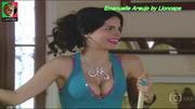 Emanuelle Araujo sensual na novela A Favorita