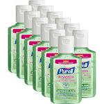 Purell Advanced Hand Sanitizer, Refreshing Aloe - 12 pack, 2 fl oz bottles