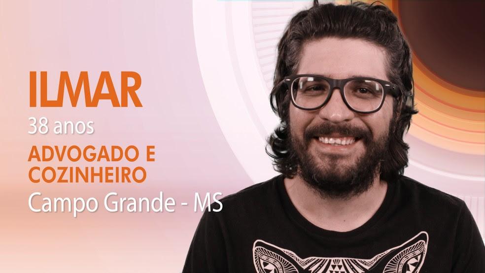 "Ilmar, nono integrante do ""BBB17"" (Foto: Globo/Divulgação)"
