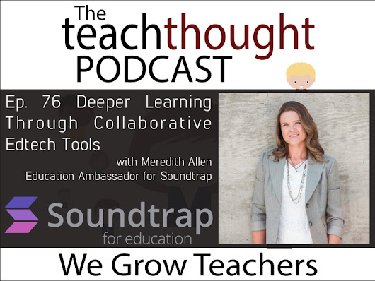 Ep. 76 Deeper Learning Through Collaborative Edtech Tools - TeachThought PD
