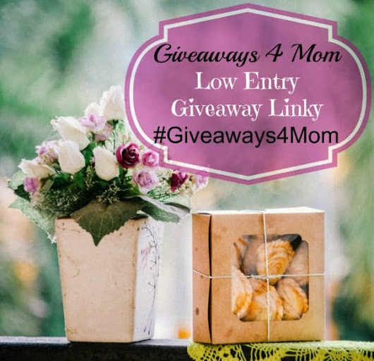 Low Entry Blog Giveaways - Blog Giveaway Linky | Giveaways 4 Mom