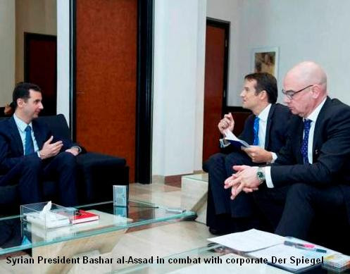 Assad and Der Spiegel