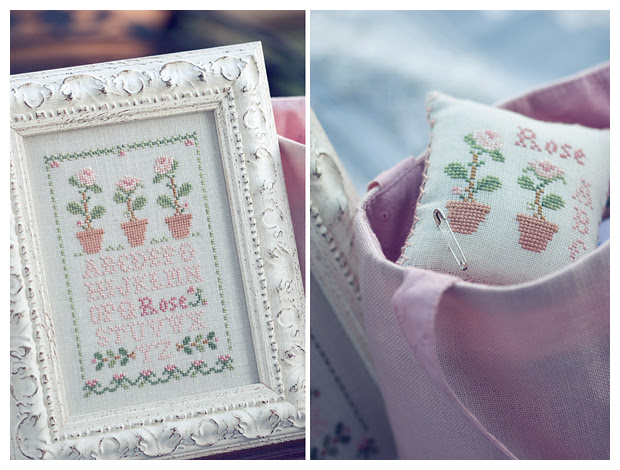 Rose Sampler (Little House Needleworks)