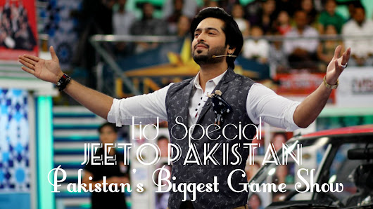 Jeeto Pakistan Eid Special 2017 - Pakistan's Biggest Game Show