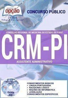 apostila CRM-PI Assistente Administrativo 2016