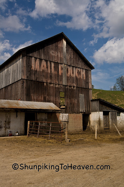 Dilapidated Mail Pouch Tobacco Barn, Guernsey County, Ohio
