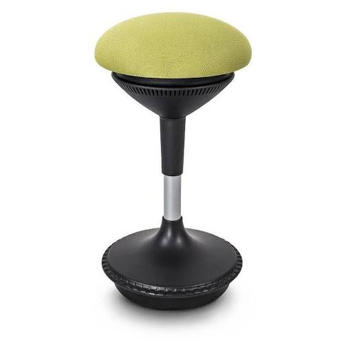 Autonomous ErgoStool Height-Adjustable Standing Swivel Stool, Green