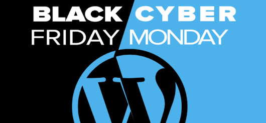 Black Friday & Cyber Monday : les Deals WordPress 2015