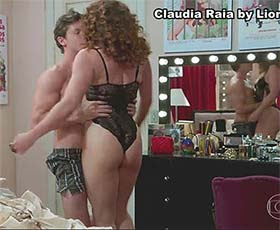 Claudia Raia super sensual na novela Verão 90