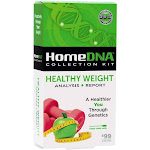 HomeDNA Scientifically Based Healthy Weight Management At-Home Analysis Plus Report DNA Collection Test Kit