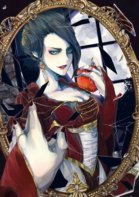 snow white   evil queen fan art  evil queen