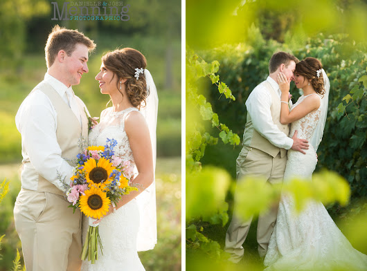 Erin & Adam Wedding | The Vineyards at Pine Lake | Columbiana, Ohio