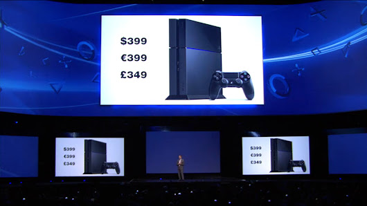 Sony's PS4 Is $400, Available This Holiday Season