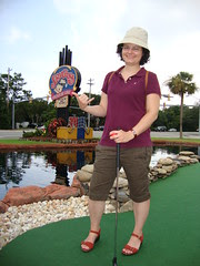 The SpyGlass mini golf course