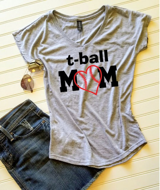 Tball shirt, Tball Mom shirt, Ladies Tshirt, T-ball, Womens Tshirt, Gift for her, Gift for Mom, Custom tshirt