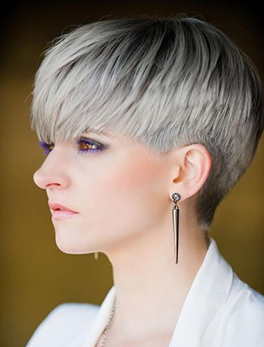 Short With Long Combined Haircuts 2018 Women Haircuts