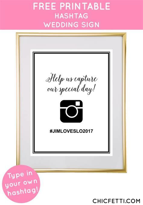 25  best ideas about Instagram wedding sign on Pinterest