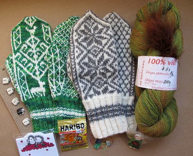 Mitten Swap Package from OsloAnn