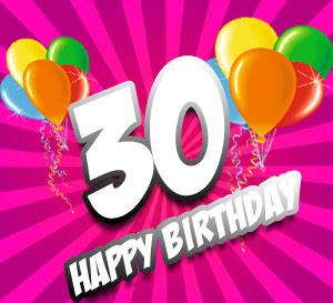 30 Geburtstag Glückwünsche Und Sprüche