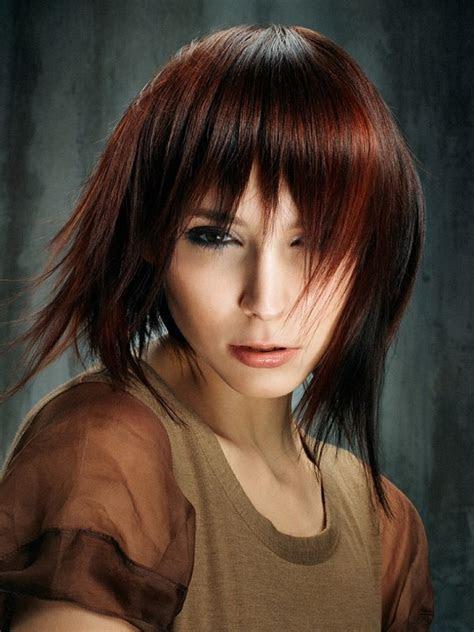 popular medium length hairstyles  bangs magment