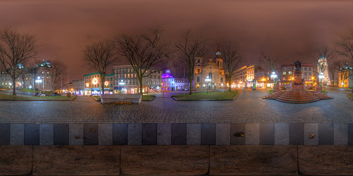 Old Quebec City Pano