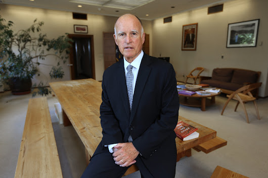 Once a crusader against big money, Gov. Brown is collecting millions
