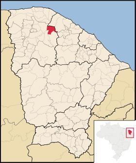 Localização de Miraíma