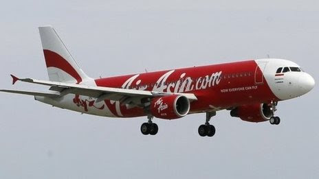 Contact lost with AirAsia flight