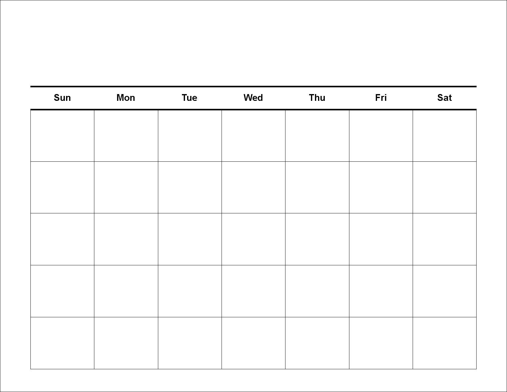 1000+ ideas about Blank Calendar Template on Pinterest   Blank ...