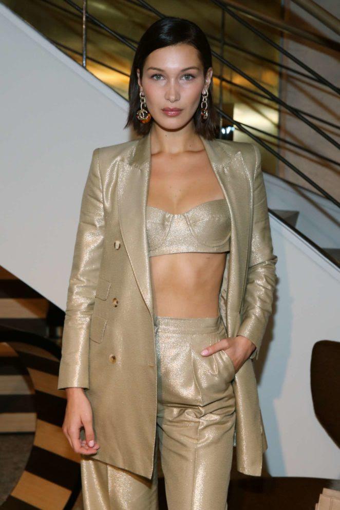 Bella Hadid: Max Mara boutique reopening Spring-Summer 2018 New York Fashion Week-08