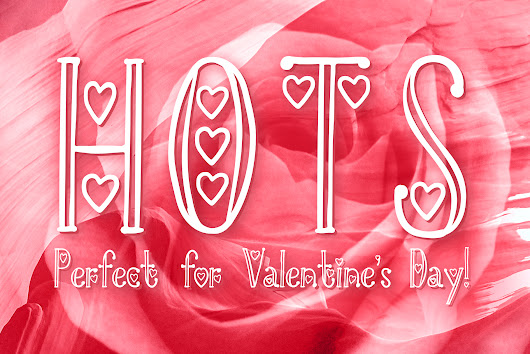 HOTS - Perfect Valentine's Day Font by | Font Bundles