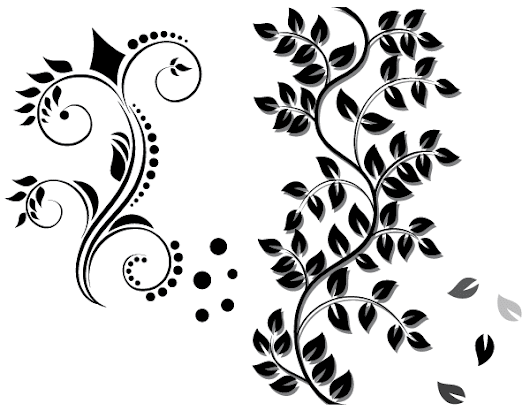Floral Ornament Vector Free Download - 365psd