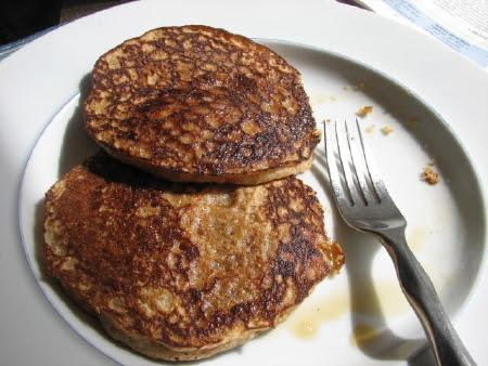 Whole Wheat Vanilla Pancakes