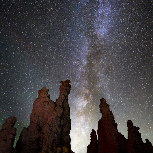 Milky Way over Tufa of Mono Lake