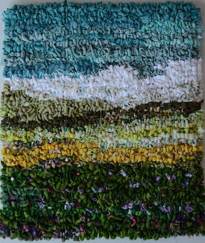 Prairie rug by Monika Kinner-Whalen