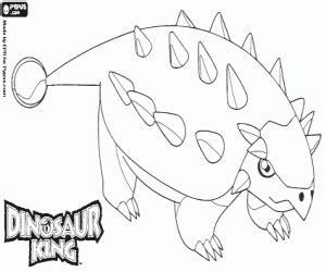 ausmalbilder dinosaur king malvorlagen