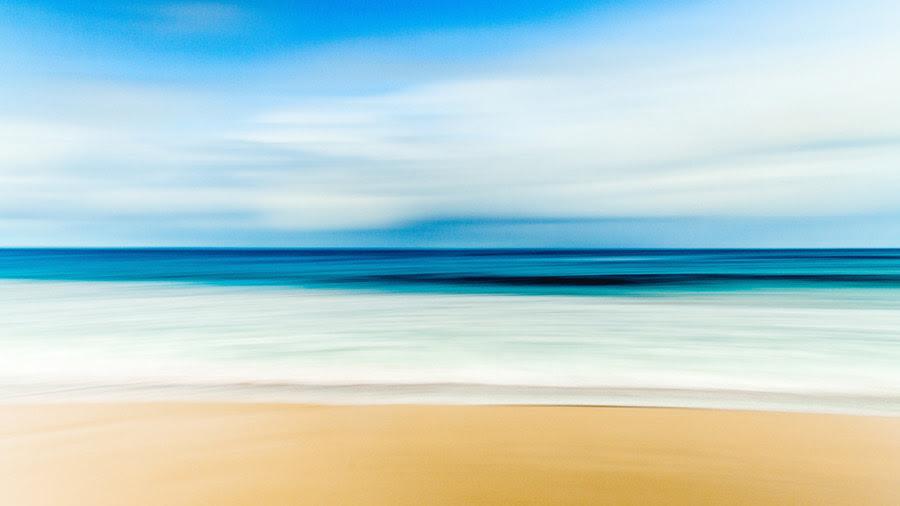 フリー写真 波打ち際の風景でアハ体験 Gahag 著作権フリー写真