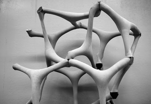 Fabric-cast concrete method could be the future of construction