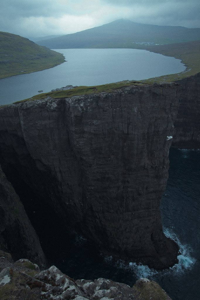 Faroe Islands  Do you ever feel like you're standing at the edge of a precipice? One wrong move and you could be falling to your death. Life could be over for you in a split second. One wrong move and everything changes forever. We only get one life to live. Make the right choices.