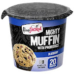 FlapJacked - Mighty Muffin with Probiotics - Blueberry (Single Serving) - Mixes